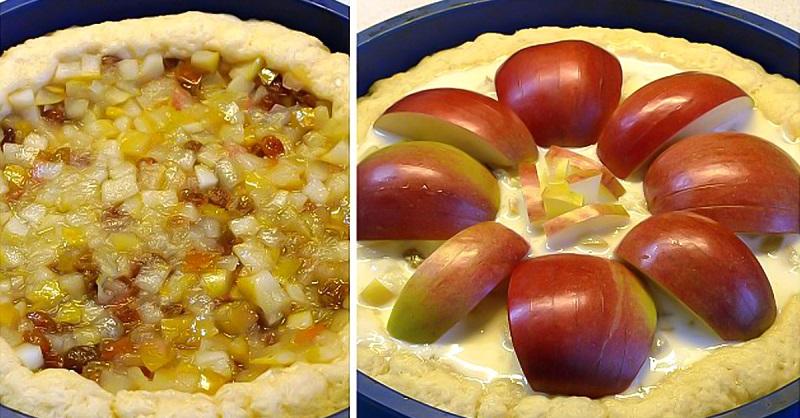 Яблочный пирог «Неженка»: сочный, ароматный, тающий во рту!