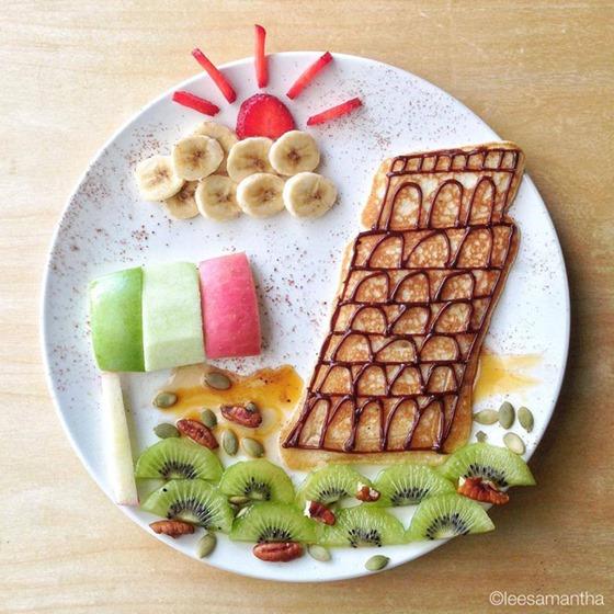 Ли Саманта. Художественные шедевры на детской тарелке