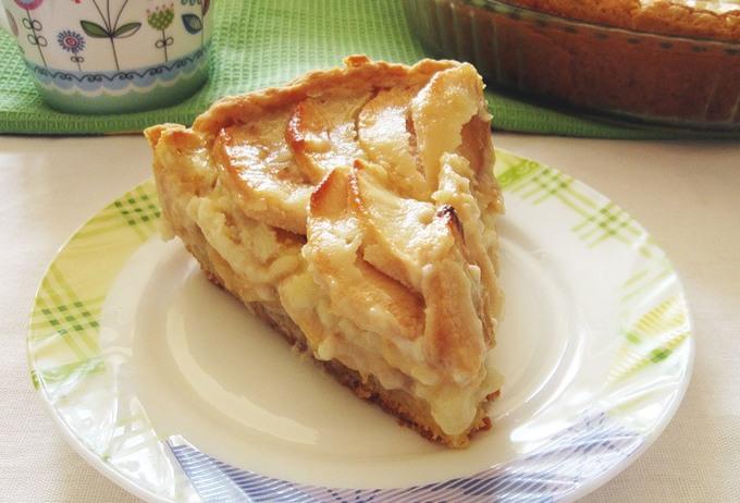 Яблочный пирог с начинкой