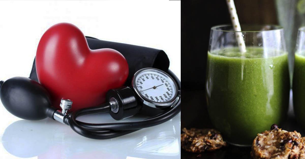 4 зеленых смузи детоксикации организма и снижение давления