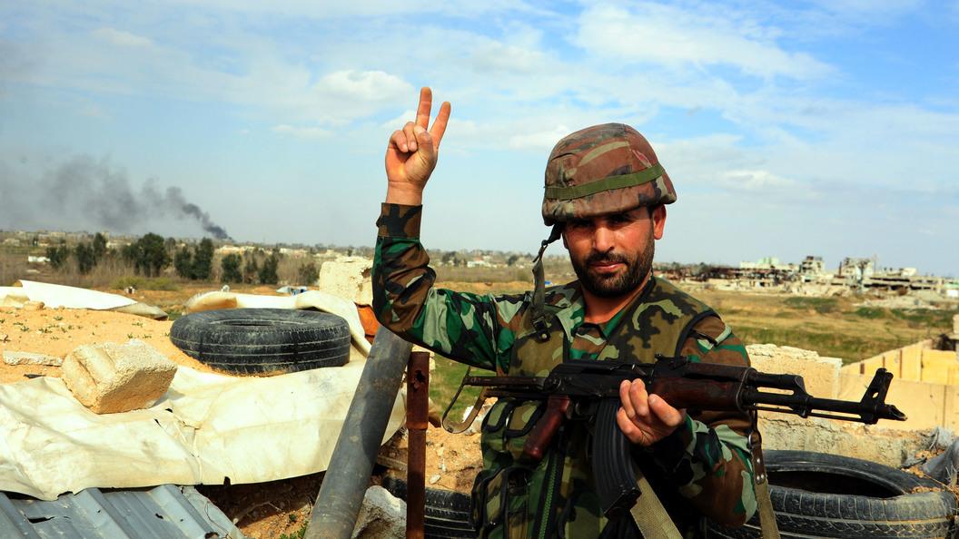 В Сирии начался штурм палестинского лагеря Ярмук под Дамаском