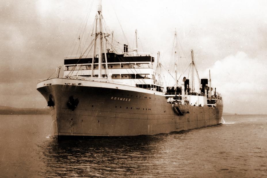 «Космос II» в 1939 году (https://www.aftenposten.no) - Китобои против стальной акулы   Военно-исторический портал Warspot.ru