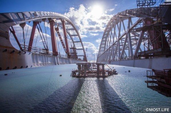 Крымский мост хотят соединить прямой железной дорогой с Симферополем