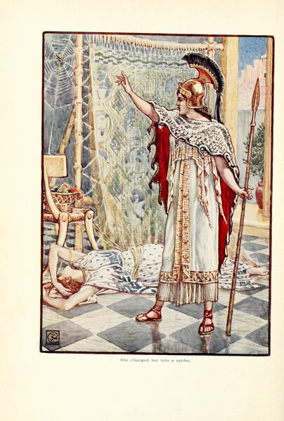 Иллюстрация Уолтера Крейна