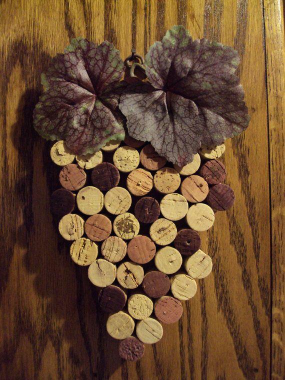 Поделки из винных пробок своими руками. Фото. Мастер-класы 25