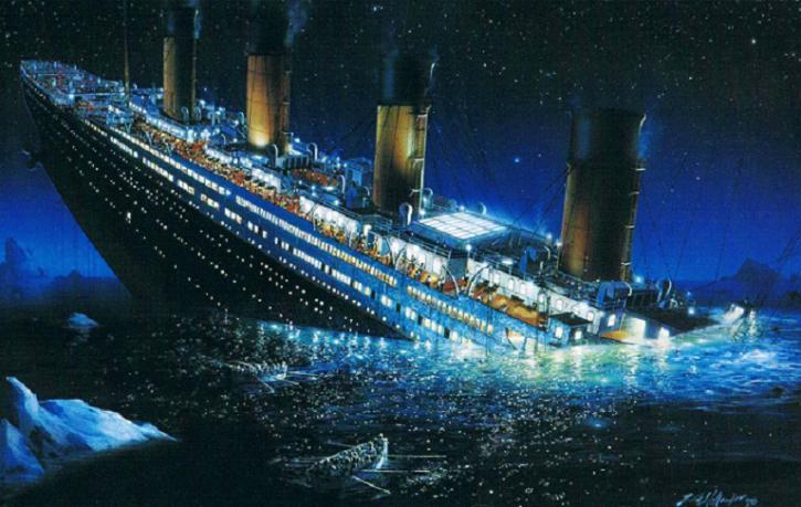 Снимки «Титаника» на дне океана опубликованы спустя 105 лет после катастрофы