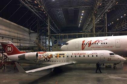 Единственный в России полностью брендированный самолет совершил первый рейс