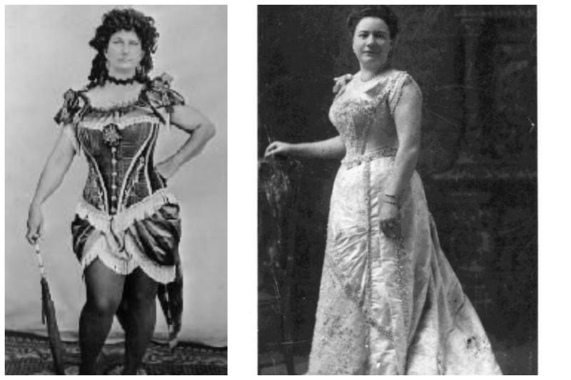 Многие становились известными личностями на Диком Западе девушки, дикий запад, интересное, салун, старые фото