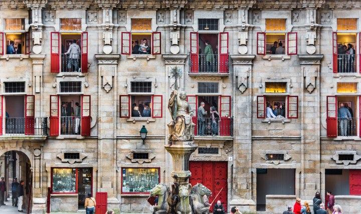 «Выставка», Мануэль Паз-Кастанал CBRE городская фотография 2014 года