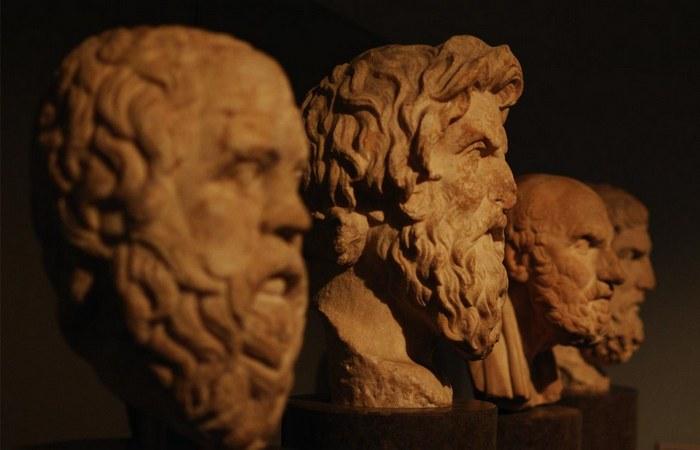 Пифагор, Салон, Сократ, Платон. / Фото:divinus.gr