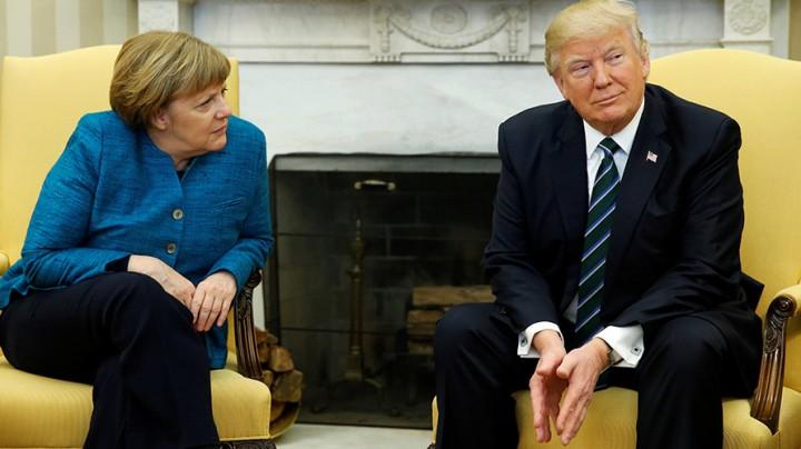 Трамп требует от Германии деньги