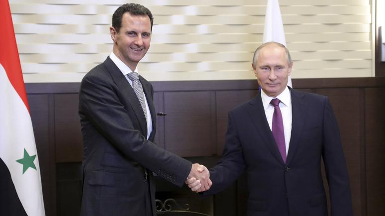 Libération: в Сирии правит б…