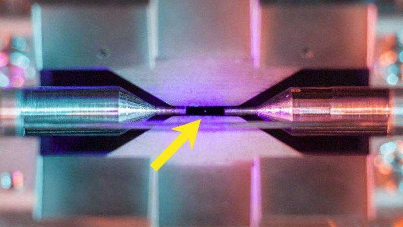 Учёный сумел снять одиночный атом и победил в научном фотоконкурсе атом, в мире, наука, ученный, фотоконкурс