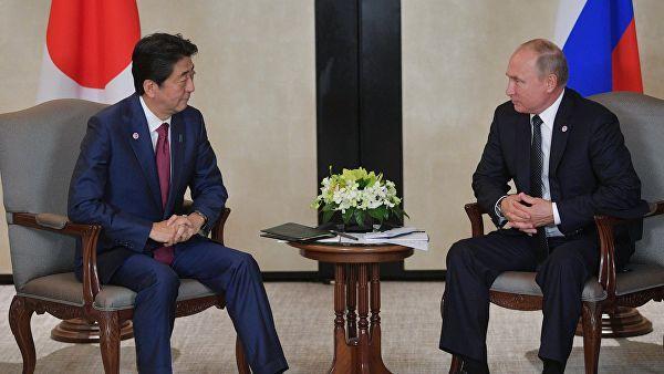 Переговоры Путина и Абэ закончились: результаты