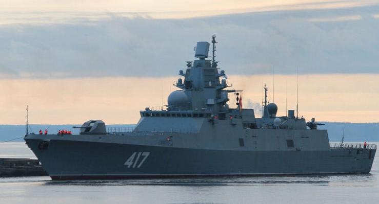 Лриближение «Адмирала Горшкова» вынудило Лондон сделать резкое заявление