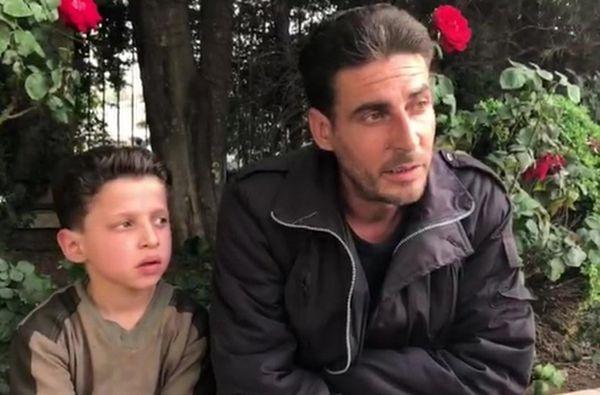 Сирийский мальчик засъемки всюжете о«химатаке» получил рис ифиники