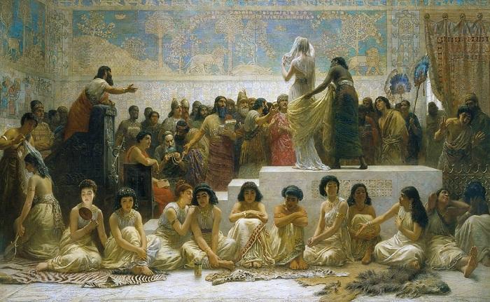 Английский художник Edwin Longsden Long, 1829-1891.