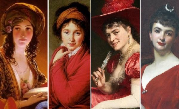 Женщины в красном на картинах художников разных эпох. Красный – это любовь, это кровь, это дьявол в ярости!