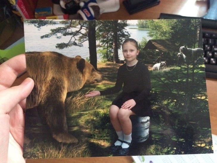 20+детских фото, накоторых слишком много пафоса (Спорим, увас есть что-то похожее?)