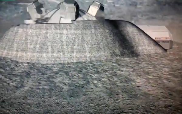 Лунную базу построят с помощью 3D-принтера