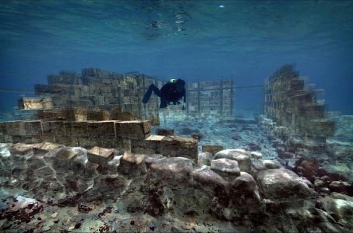 Павлопетри - город под водой площадью более 30000 кв. метров. | Фото: images.detik.com.