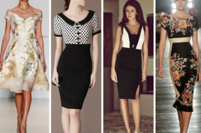 Учимся моделировать: платья …