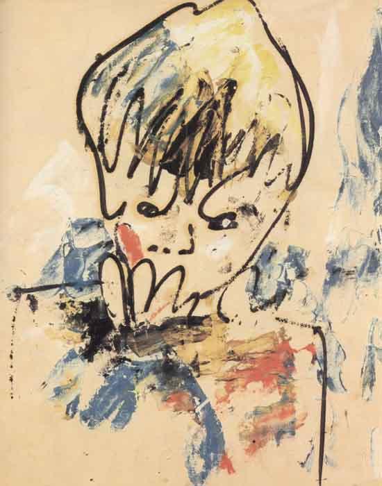 """Зверев А. """"Саша Косатки"""", 1958"""