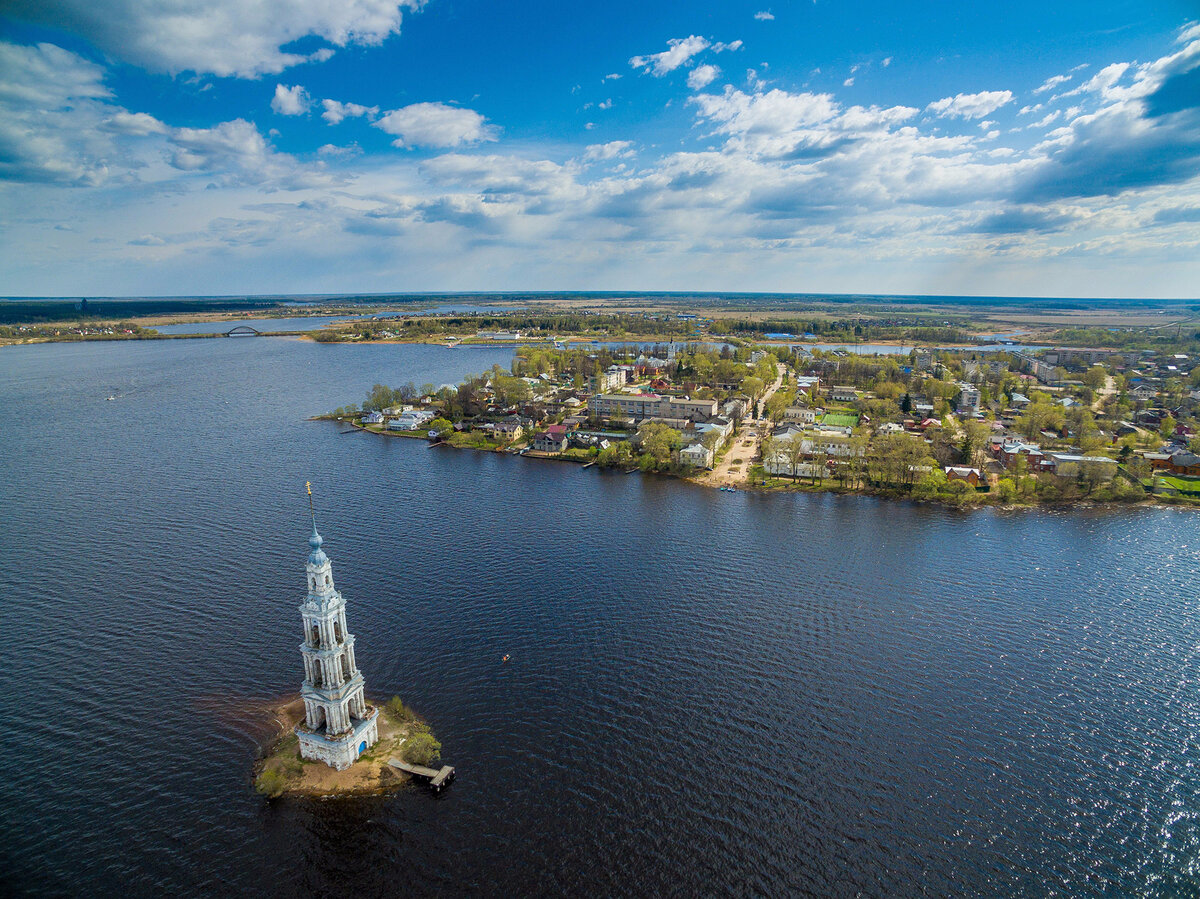 5 процветавших городов, затопленных в эпоху СССР