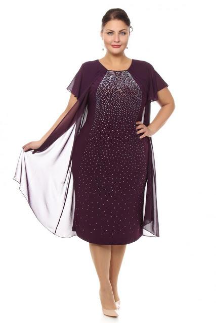 Вечернее платье для полных женщин 50 лет