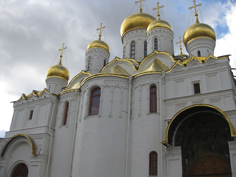 Московский Кремль.Часть 3.Благовещенский собор...