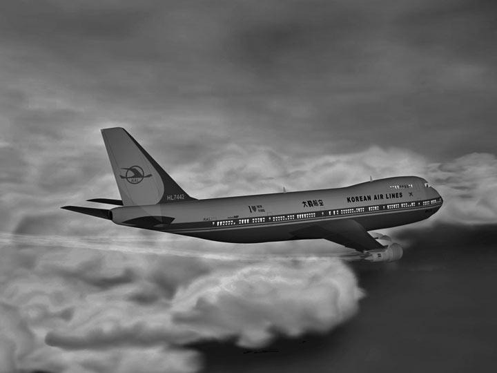 Советский истребитель сбил корейский боинг , куда же делись пассажиры?