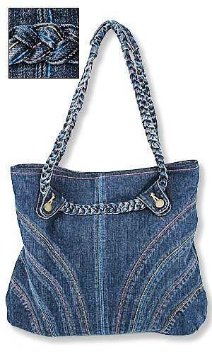 Как сшить сумку из джинсовой ткани своими руками