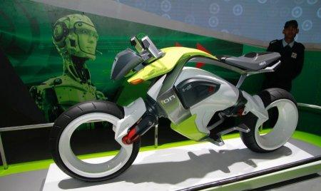 Индийский мотоцикл из будущего - Фото 1