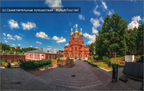 Сергиев Посад. Гефсиманский Черниговский монастырь