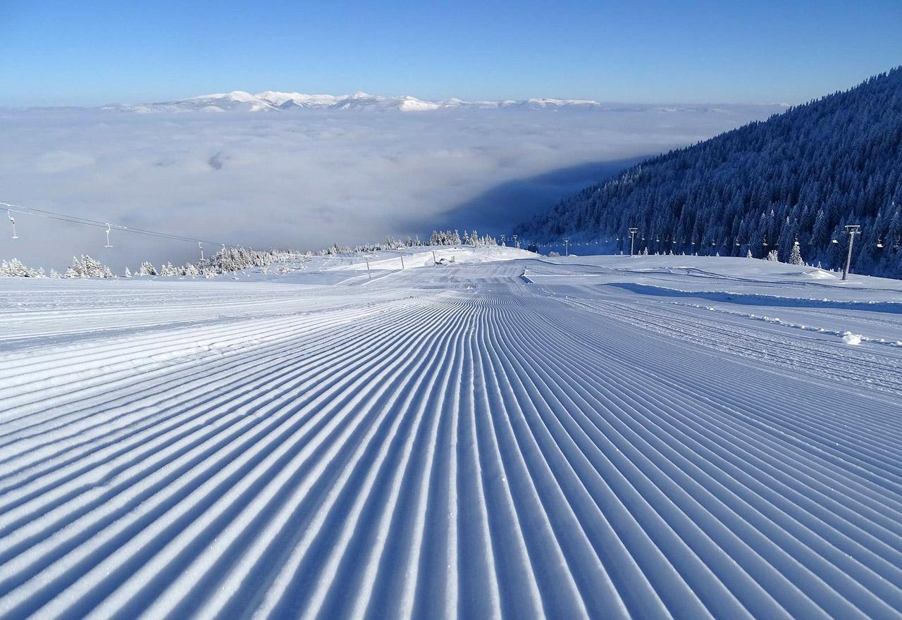 Для катания на лыжах и сноуборде доступно 6,6 км трасс