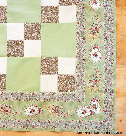 Шьем одеяло в технике ПЭЧВОРК. Учебный курс (10) (416x449, 202Kb)