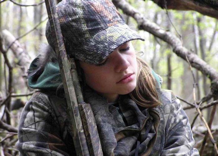 Женщины на охоте