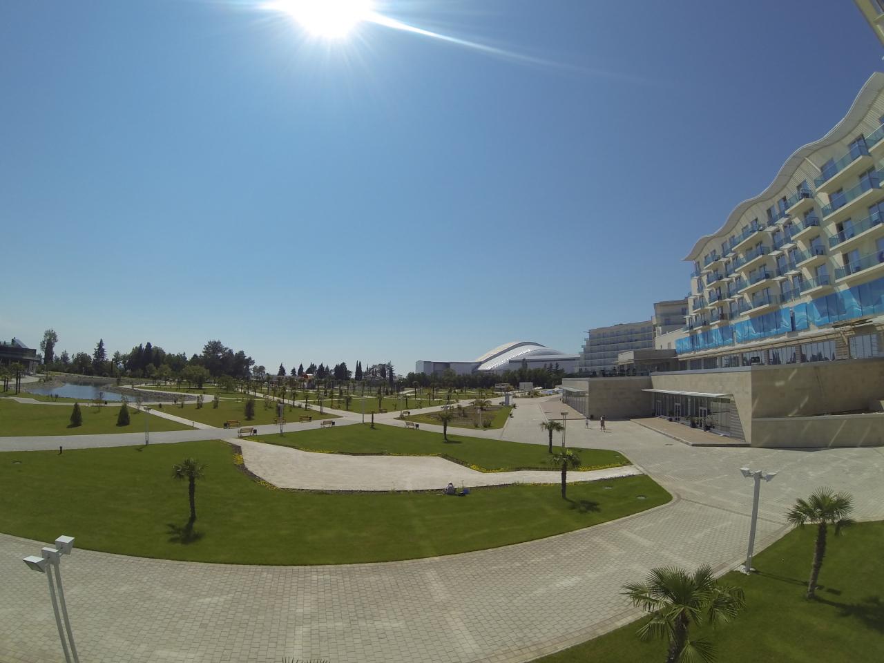 Дорога в Олимпийском парке