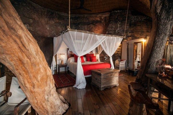 Удивительный «дом на дереве» в Замбези