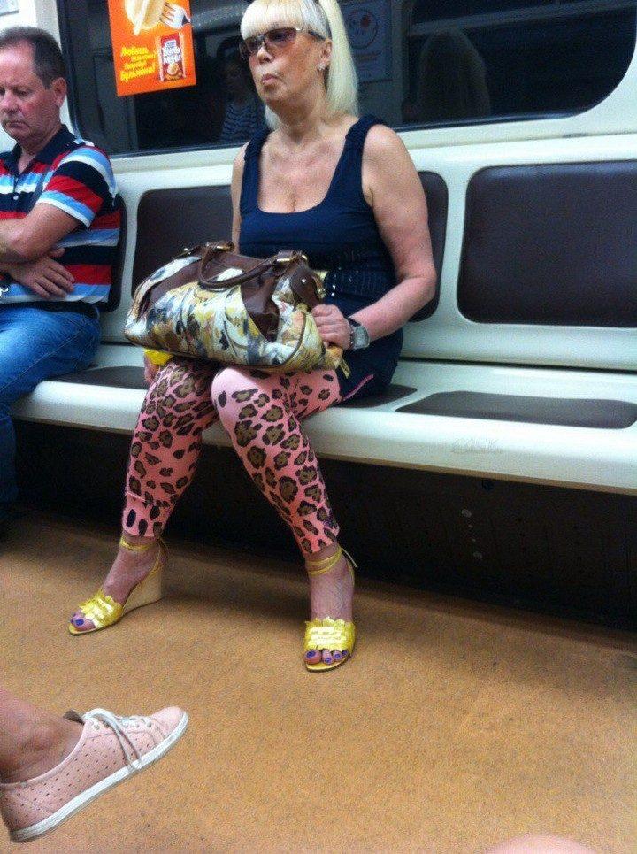 Модный маразм из метрополитена