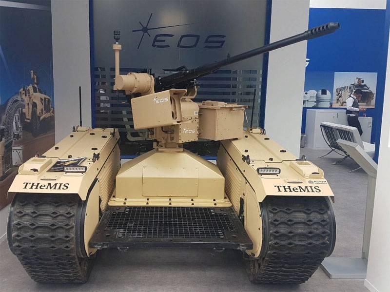 Австралийско-эстонский боевой наземный беспилотник представлен на IDEX-2019
