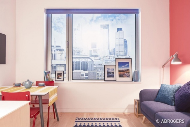 Английские дизайнеры разместили полноценную квартиру на площади всего 19 кв. м