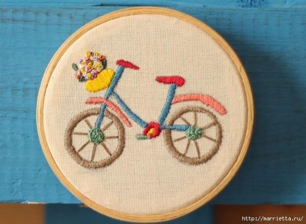 Вышиваем велосипед. Идеи со схемами (29) (602x441, 192Kb)