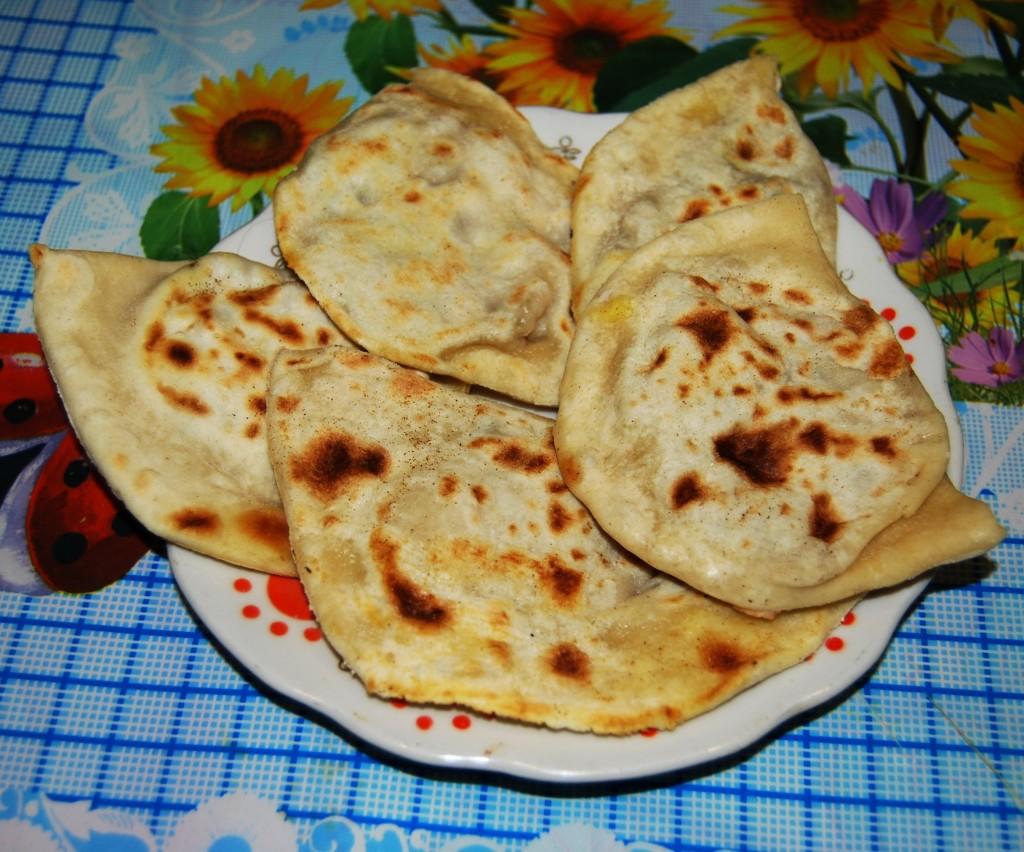 Чебуреки с тыквой рецепт на сковороде