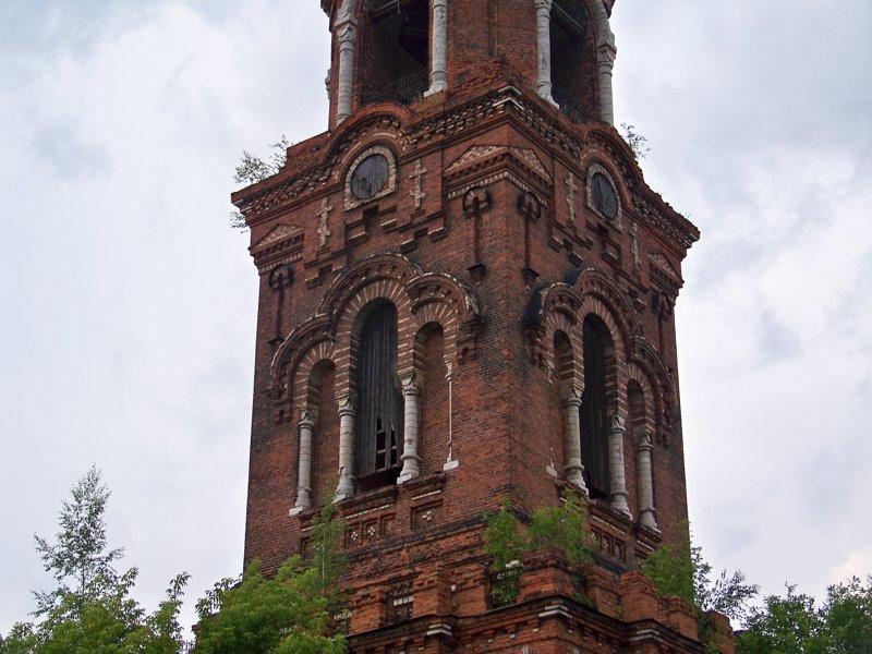 Здесь раньше видимо были часы Города России, владимирская область, красивые места, пейзажи, путешествия, россия