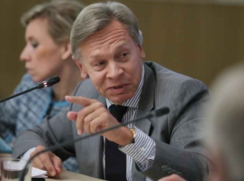 Пушков напомнил Порошенко об «историческом месте» Украины