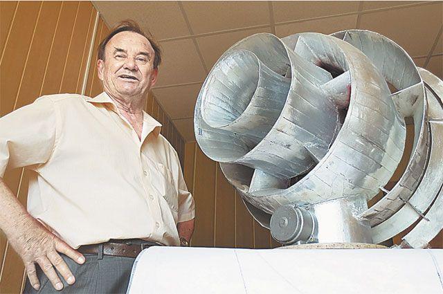 Ветряк... без ветра. Виктор Скляров хочет обеспечить Россию электроэнергией
