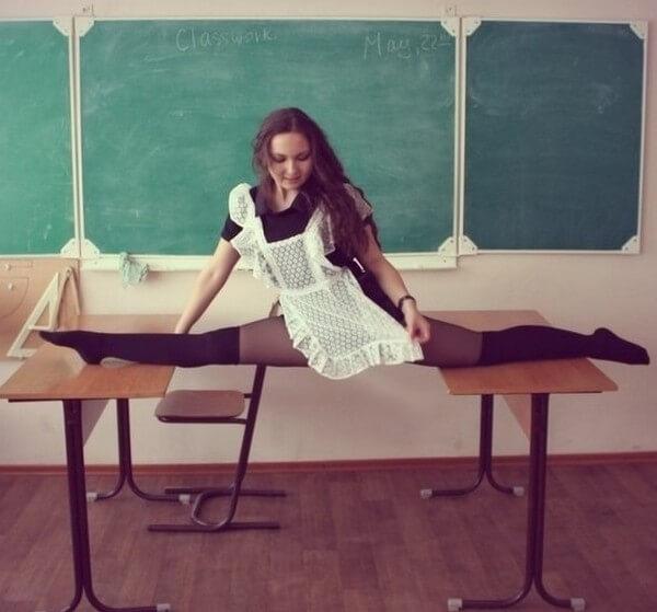 Школа научила эту девушку всему
