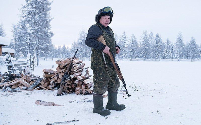 Один день из жизни якутских оленеводов