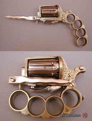 Пистолет-кастет-стилет.